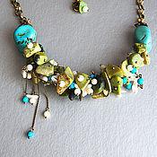 Украшения handmade. Livemaster - original item Necklace with evenly spaced