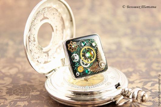 Стимпанк кольцо, стимпанк украшения.  Винтажный стиль. Авторский дизайн. Татьяна Больших.