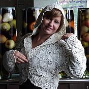 Одежда ручной работы. Ярмарка Мастеров - ручная работа Болеро с капюшоном Мерцание. Handmade.