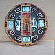 Часы для дома ручной работы. Заказать Часы орнаментальные. Искусство подарка (rusartclub). Ярмарка Мастеров. Часы интерьерные, часы в подарок