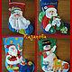 Сапожок Дед Мороз Сапожок Дед Мороз с котом Сапожок Снеговик с подарками Сапожок Снеговик и звери