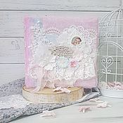 Канцелярские товары handmade. Livemaster - original item Album for girls