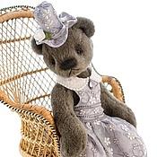 Куклы и игрушки ручной работы. Ярмарка Мастеров - ручная работа Мишка тедди Дымка. Handmade.