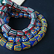 Материалы для творчества handmade. Livemaster - original item Krobo beads Africa Ghana 3 kinds. Handmade.