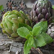 Цветы и флористика handmade. Livemaster - original item Artichoke. Botanical sculpture from clay.. Handmade.