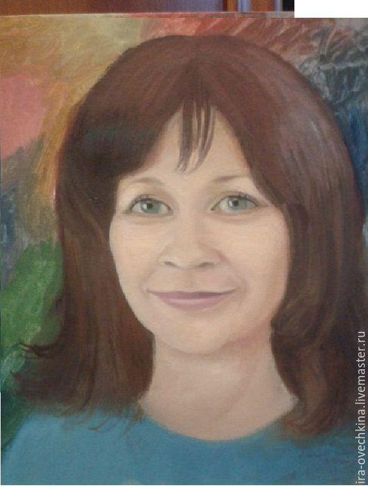 Люди, ручной работы. Ярмарка Мастеров - ручная работа. Купить портрет. Handmade. Бежевый, портрет по фото, живопись в подарок