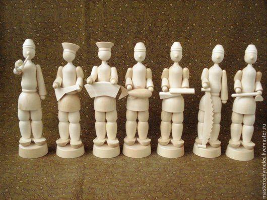 Декупаж и роспись ручной работы. Ярмарка Мастеров - ручная работа. Купить Парни большие. Handmade. Кукла, деревянная кукла