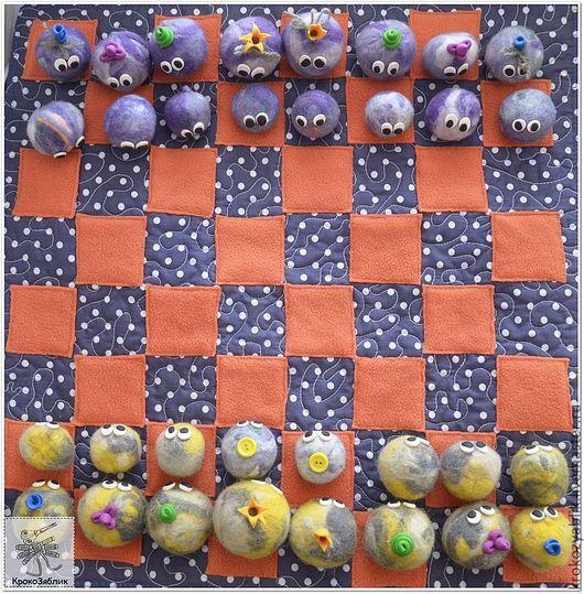 Развивающие игрушки ручной работы. Ярмарка Мастеров - ручная работа. Купить Венерианские шахматы, настольная игра. Handmade. Шахматы
