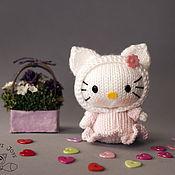 "Материалы для творчества ручной работы. Ярмарка Мастеров - ручная работа Мастер-класс ""Маленькая куколка Hello Kitty из серии Tanoshi`. Handmade."