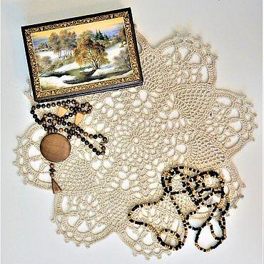 Для дома и интерьера handmade. Livemaster - original item Decorative napkins: 35 / RETRO. Handmade.