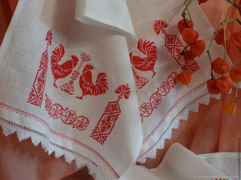 без фото старинных русских деревенских рушников ночную рубашку