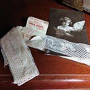 Винтаж ручной работы. Ярмарка Мастеров - ручная работа Французское старинное кружево. Handmade.