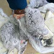 Мех ручной работы. Ярмарка Мастеров - ручная работа Крупный лоскут кролика. Handmade.