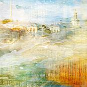 Картины и панно handmade. Livemaster - original item Abstract photo painting the city of St. Petersburg