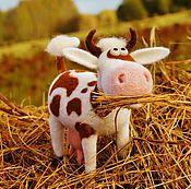 Куклы и игрушки ручной работы. Ярмарка Мастеров - ручная работа Коровка Му. Handmade.