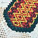 Комплекты украшений ручной работы. Ожерелье- славянский ворот+браслет. Емельянова Анна (E.A. LOOK). Ярмарка Мастеров. Украшения из кожи