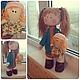 Вальдорфская игрушка ручной работы. Кукла ручной работы. Света. Интернет-магазин Ярмарка Мастеров. Кукла, большеногая кукла
