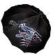 """Зонты ручной работы. Ярмарка Мастеров - ручная работа. Купить Зонт с ручной росписью """"Дракон"""". Handmade. Черный, мужской зонт"""