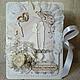 """Открытки к другим праздникам ручной работы. Ярмарка Мастеров - ручная работа. Купить Свадебная открытка """"Будьте счастливы"""". Handmade. Белый"""