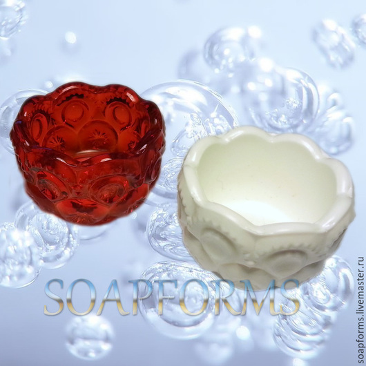 Силиконовая форма для мыла `Розеточка 2`  3D
