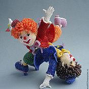 Куклы и игрушки ручной работы. Ярмарка Мастеров - ручная работа Клоуны. Handmade.