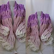 Одежда ручной работы. Ярмарка Мастеров - ручная работа кардиган из кос. Handmade.