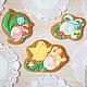 Set of Easter cakes with cyplenka, Gingerbread Cookies Set, St. Petersburg,  Фото №1