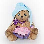Куклы и игрушки ручной работы. Ярмарка Мастеров - ручная работа Игрушка зайчик. Зайка малышка. Текстильный заяц. Подарок ребенку. Handmade.