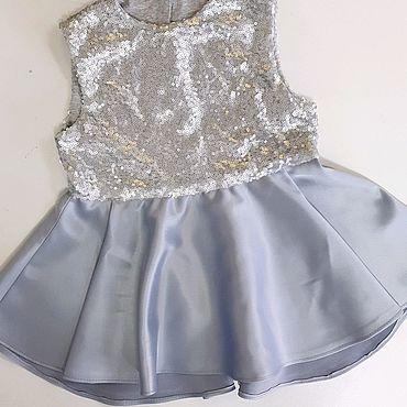 Одежда ручной работы. Ярмарка Мастеров - ручная работа Детское нарядное платье. Handmade.