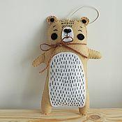 Мягкие игрушки ручной работы. Ярмарка Мастеров - ручная работа Скандинавский мишка Марк. Handmade.