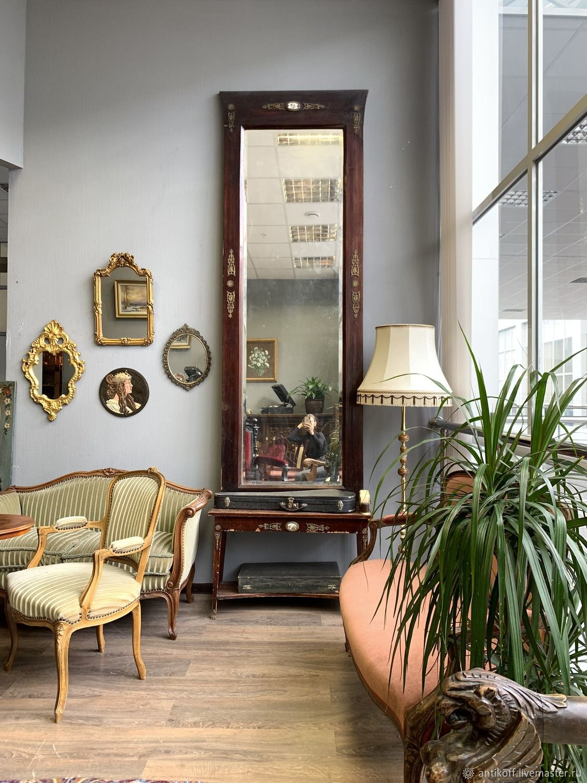 Винтаж: Антикварное зеркало с консолью в стиле Ампир, Винтажные предметы интерьера, Москва, Фото №1