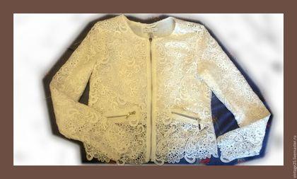 """Одежда. Ирландское кружево Роскошный винтажный пиджак новый 60 е годы. Винтажный салон """"Консуэлло"""". Интернет-магазин Ярмарка Мастеров."""