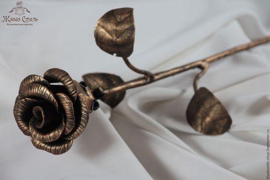 Цветы ручной работы. Ярмарка Мастеров - ручная работа. Купить Кованые розы. Handmade. Разноцветный, розы, подарок на день рождения