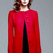 Одежда ручной работы. Ярмарка Мастеров - ручная работа Красное пальто. Handmade.