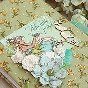 Канцелярские товары ручной работы. Ярмарка Мастеров - ручная работа Эльфийский блокнот. Handmade.