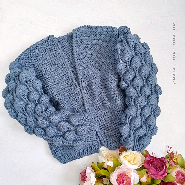 Gift for woman. Cardigan Malinki