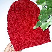 Caps handmade. Livemaster - original item Copy of Takes women`s red. Handmade.