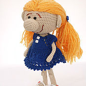 Куклы и игрушки ручной работы. Ярмарка Мастеров - ручная работа Куколка с большим носом. Handmade.