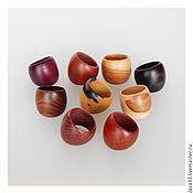 Украшения handmade. Livemaster - original item Rings of wood. Handmade.