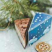 Косметика ручной работы handmade. Livemaster - original item Soap cake natural Penny gift girlfriend brown. Handmade.