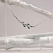 Украшения handmade. Livemaster - original item `Twig` Pendant. Handmade.