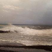 Картины и панно handmade. Livemaster - original item A storm is coming. ( Vladimir Tarasov). Handmade.