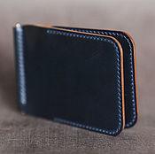 handmade. Livemaster - original item Copy of Shell cordovan Wallet with money clip. Handmade.