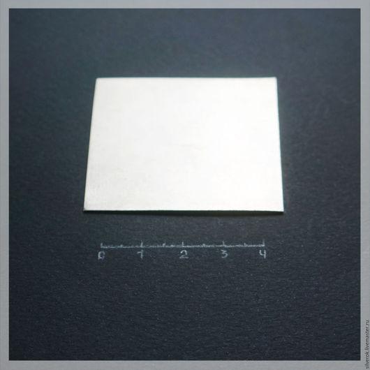Другие виды рукоделия ручной работы. Ярмарка Мастеров - ручная работа. Купить Пластина 0,6 мм  серебро листовое 925 проба. Handmade.