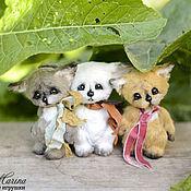 Куклы и игрушки ручной работы. Ярмарка Мастеров - ручная работа Три товарища по 10 см :). Handmade.