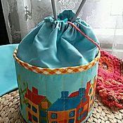 Для дома и интерьера ручной работы. Ярмарка Мастеров - ручная работа Текстильная корзинка для рукоделия,кухни,детской и ванной комнат. Handmade.