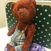 Куклы и игрушки ручной работы. Ярмарка Мастеров - ручная работа Юзеппи медвежонок тедди. Handmade.