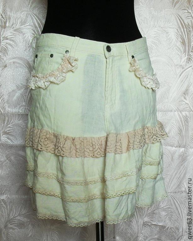 Модная юбка бохо
