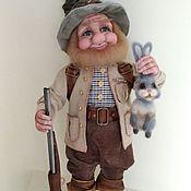 Куклы и игрушки handmade. Livemaster - original item Dwarf Hunter.(reserve). Handmade.