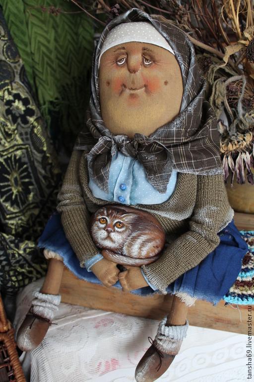 Куклы бабушек своими руками